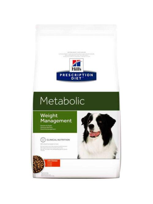 Hill's – Prescription – Metabolic - Pies - karma sucha – 12kg – MiskaKarmy.pl