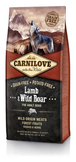 Carnilove - Lamb and Wild Boar - 12kg - sucha karma dla psa - MiskaKarmy.pl
