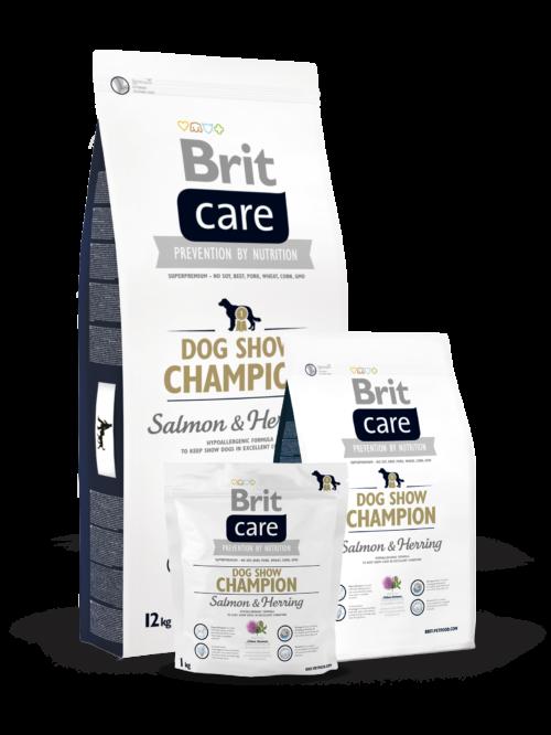 Brit Care Dog Show Champion - sucha karma dla psa