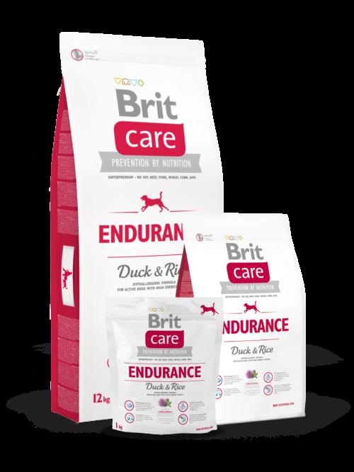 Brit Care Endurance 3kg, 12kg sucha karma dla psa miskakrmypl