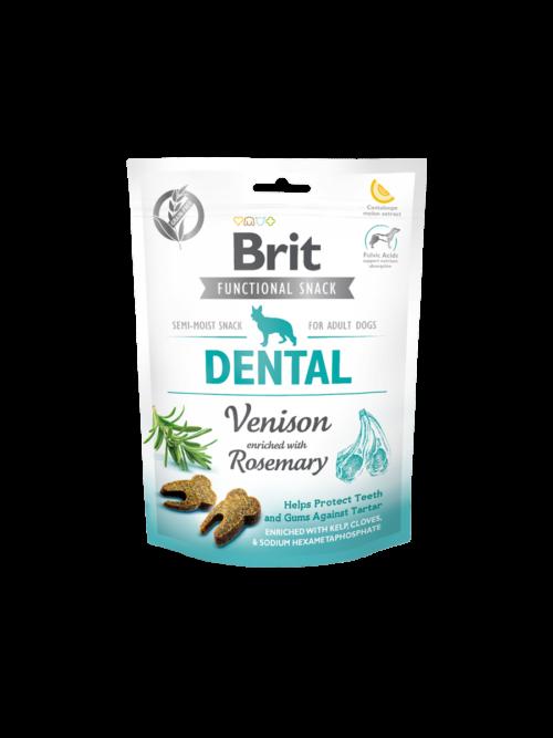Brit Care Functional Snack Dental Venison - 150g przysmaki dla psa miskakarmypl