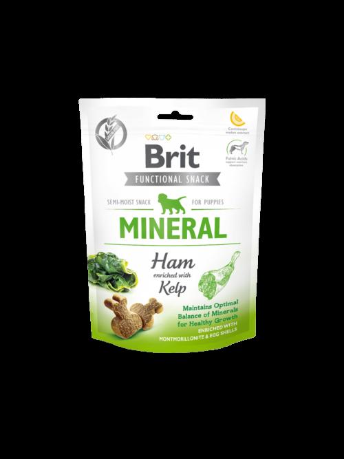 Brit Care Functional Snack Mineral Ham for Puppies - 150g przysmak dla psów miskakarmypl