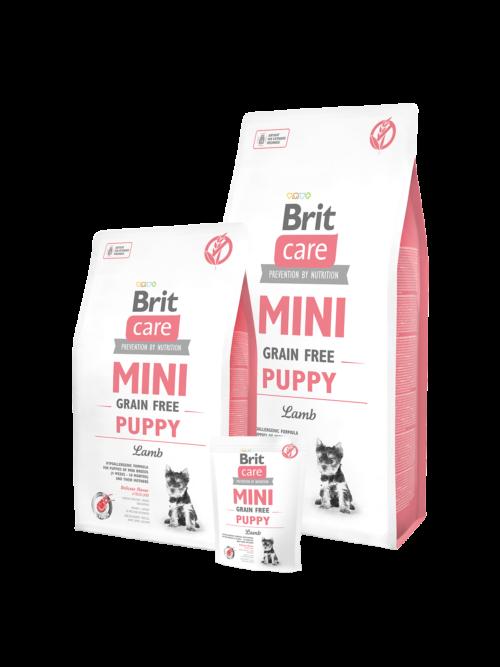 Brit Care Mini Puppy - 7kg - sucha karma dla szczeniaka - miskakarmypl