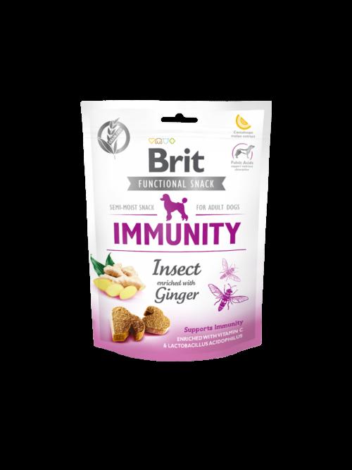 Brit Functional Snack Immunity Insect - 150g przysmaki dla psa miskakarmypl