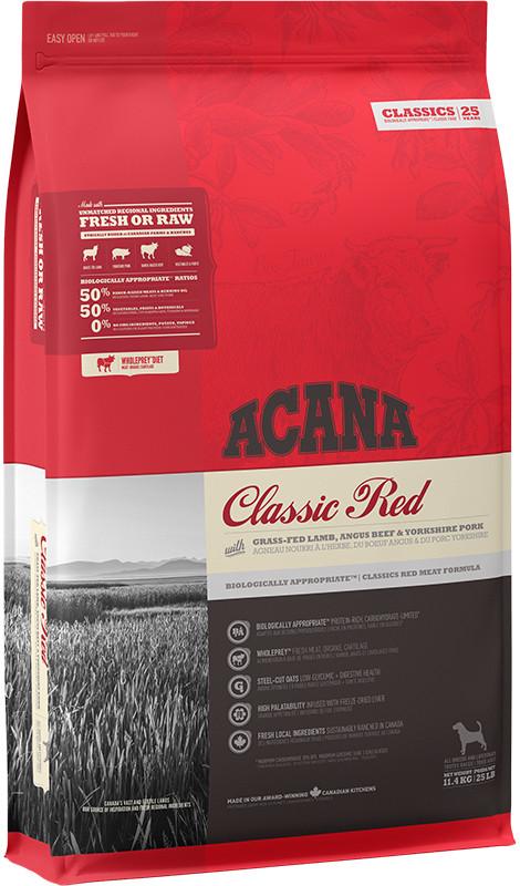Acana Classics Classic Red - sucha karma dla psa - 11,4kg - MiskaKarmy.pl