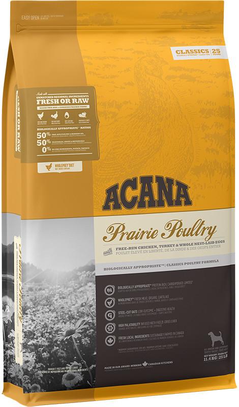 Acana Classics Prairie Poultry - sucha karma dla psa - 11,4kg - MiskaKarmy.pl