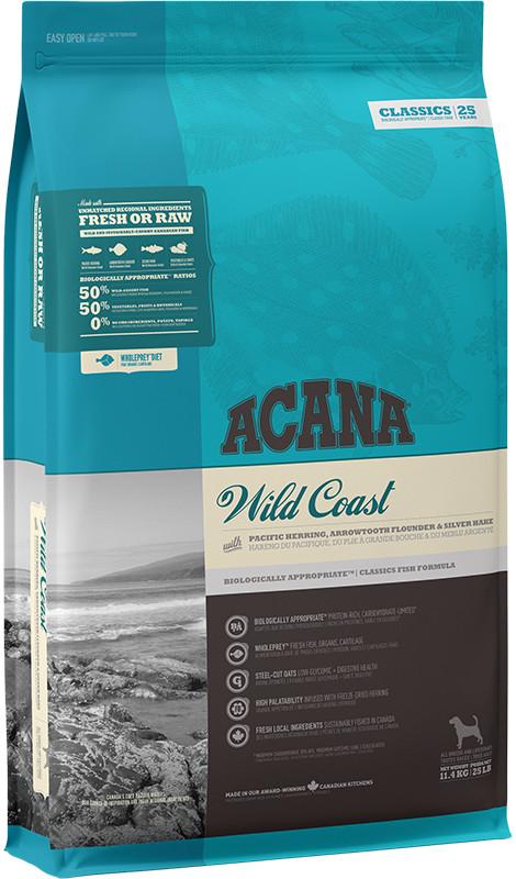 Acana Classics Wild Coast - sucha karma dla psa - 11,4kg - MiskaKarmy.pl