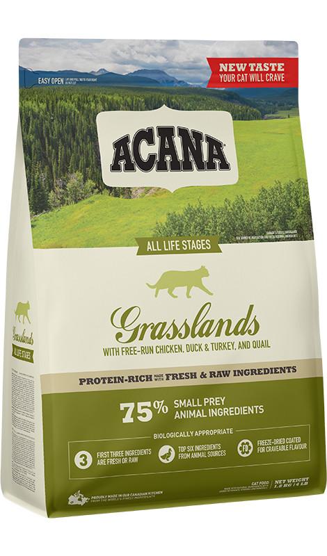 Acana Grasslands Cat - 1,8kg - sucha karma dla kota - MiskaKarmy.pl