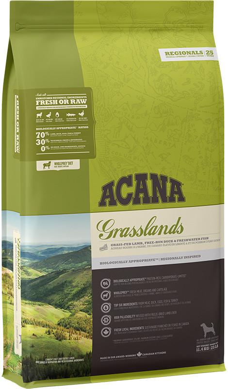 Acana Regionals Grasslands Dog - sucha karma dla psa - 11,4kg - MiskaKarmy.pl