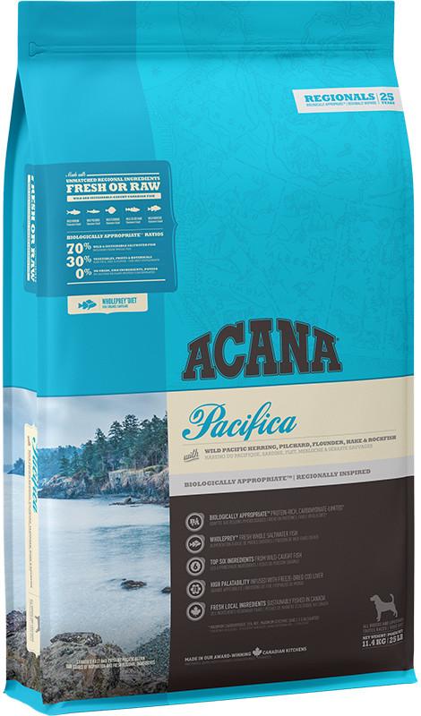 Acana Regionals Pacifica Dog - sucha karma dla psa - 11,4kg - MiskaKarmy.pl
