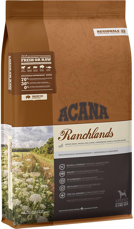 Acana Regionals Ranchlands Dog - sucha karma dla psa - 11,4kg - MiskaKarmy.pl