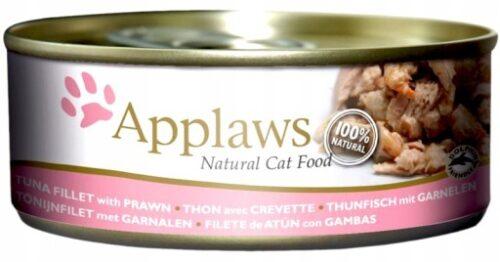 Applaws Cat - Filet z Tuńczyka Krewetki - 156g puszka - MiskaKarmy.pl
