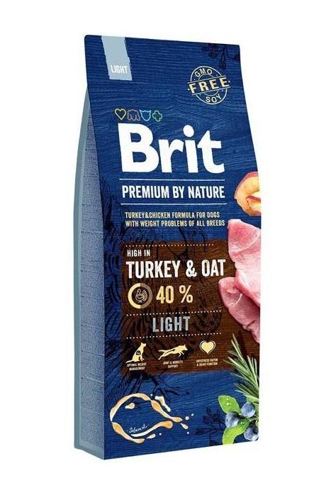 Brit Premium By Nature - Light - Indyk Kurczak - 15kg sucha karma - MiskaKarmy.pl