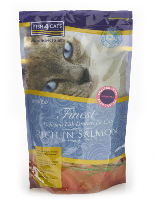 Fish4Cats – Finest Cat Salmon - sucha karma – 1,5kg – MiskaKarmy.pl