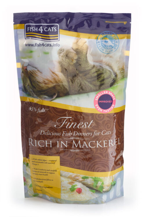 Fish4Cats – Finest Cat Mackerel - sucha karma – 1,5kg – MiskaKarmy.pl