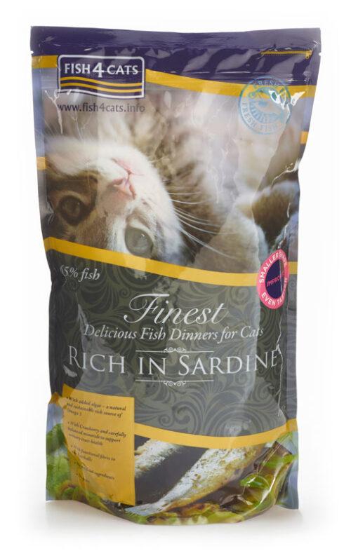 Fish4Cats – Finest Cat Sardine - sucha karma – 1,5kg – MiskaKarmy.pl