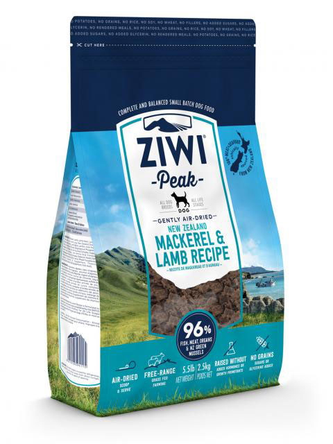 Ziwi Peak – Mackerel&Tripe – karma sucha – 454g - MiskaKarmy.pl