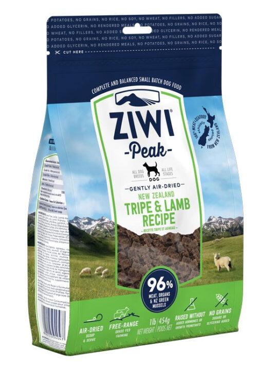 Ziwi Peak – Tripe&Lamb – karma sucha – 454g - MiskaKarmy.pl