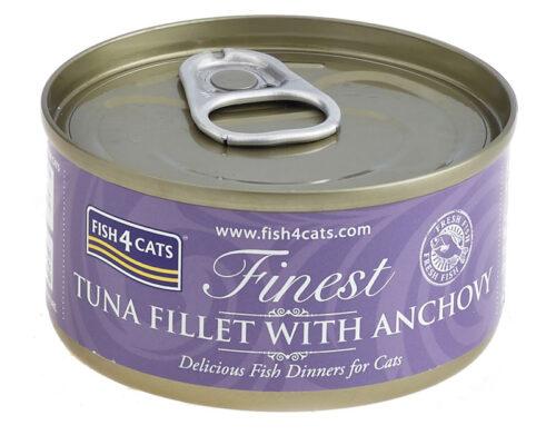 Fish4Cats – Finest Tuńczyk Anchois - karma mokra - 70g – MiskaKarmy.pl