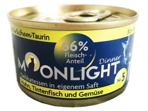 Moonlight Dinner – 5 - karma mokra – 80g – MiskaKarmy.pl