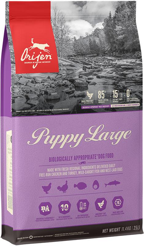 Orijen Puppy Large - sucha karma dla psa - 11,4kg - MiskaKarmy.pl