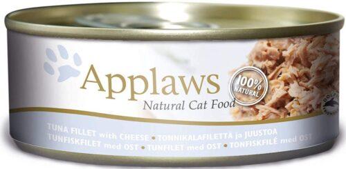 Applaws - Filet Tuńczyk Ser - 156g - puszka dla kota
