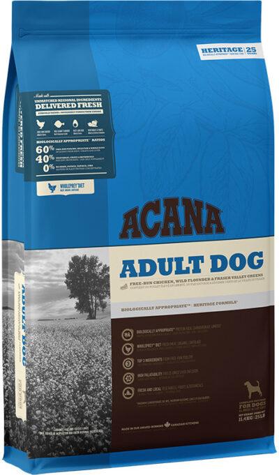Acana Heritage Adult Dog - sucha karma - pies dorosły - 11,4kg - MiskaKarmy.pl