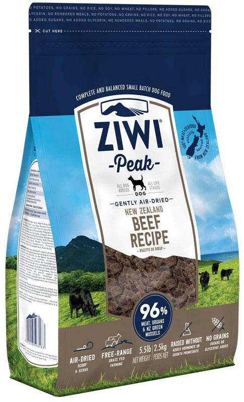 Ziwi Peak – Beef – karma sucha – 2,5kg - MiskaKarmy.pl