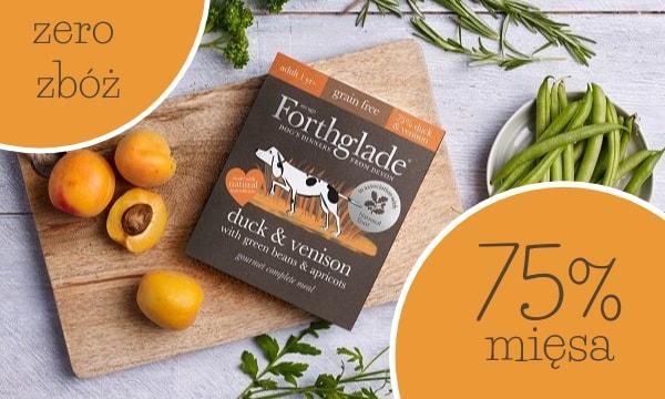 Forthglade - 75% mięsa, bez zbóż