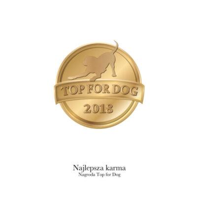 Nagroda - Top4Dog - 2018 - Miskakarmy.pl