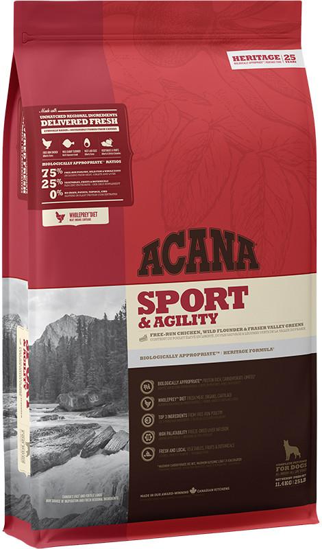 Acana Heritage Sport&Agility - sucha karma dla psa - 11,4kg - MiskaKarmy.pl
