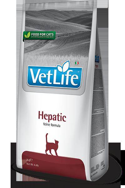 Farmina Vet Life Hepatic - Karma sucha dla kota weterynaryjna - 2kg - miskakarmypl