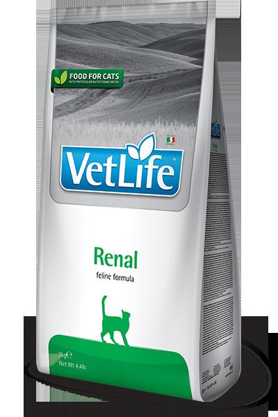 Farmina Vet Life Renal - Karma sucha dla kota weterynaryjna - 2kg - miskakarmypl