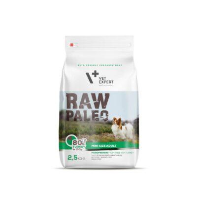 VetExpert RAW PALEO Mini Adult - Karma sucha dla psa 2,5kg - miskakarmypl