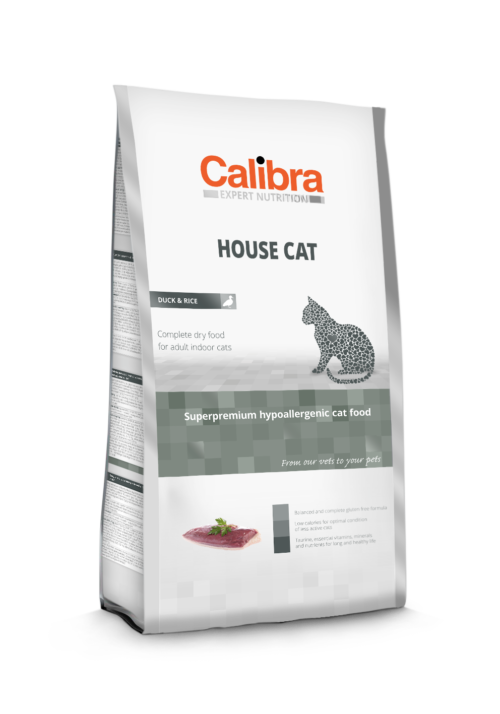 Calibra - House Cat - Kot - Karma - Sucha - 2kg - MiskaKarmy.pl
