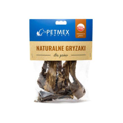 Żwacze wołowe - 100g - gryzak dla psa - miskakarmypl